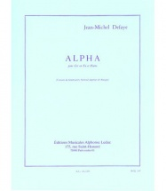 Defaye Jean Michel - Alpha - Cor En Fa