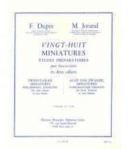 Dupin F., Jorand M. - 28 Miniatures Vol. 1 - Caisse Claire