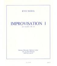 Noda Ryo - Improvisation 1 - Saxophone Alto Seul