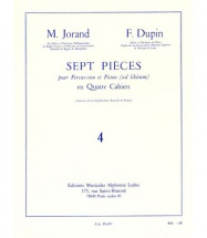 Jorand / Dupin - 7 Pieces Vol.4 - Percussion