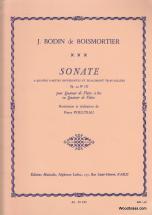 Boismortier J. - Sonate à Quatre Parties Op 34 - Flutes A Bec