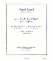 Jorand - Quinze études Pour Xylophone