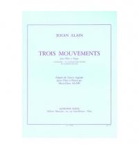 Alain Jehan - Trois Mouvements - Flûte / Orgue