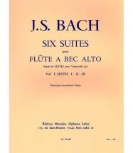 Bach J.s./veilhan J.c. - 6 Suites D