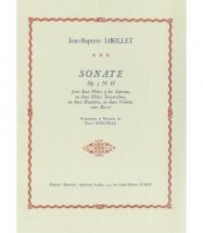 Loeillet J.b. - Sonate Op.5 N°ii - 2 Flb Soprano Bon Plan Mma