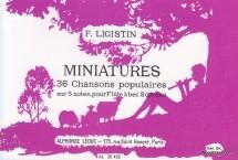 Ligistin - Miniatures Pour Flûte à Bec Soprano
