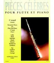Pieces Celebres Vol.1 - Flute & Piano
