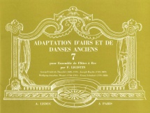 Ligistin - Adaptation Airs Danses Anciens Vol. 7 - Ensemble Flutes A Bec