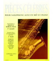 Mule (ed.) - Pieces Celebres Vol. 1 - Saxophone Alto Et Piano