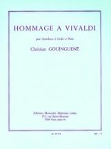 Gouinguene Christian - Hommage A Vivaldi - Contrebasse and Piano