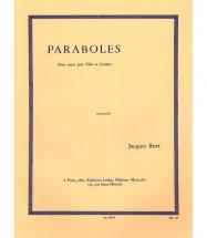 Ibert J. - Paraboles - Flûte Et Guitare