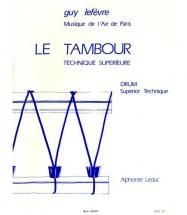 Lefevre G. - Tambour - Technique Superieure