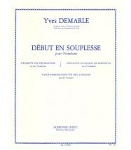 Demarle - Debut En Souplesse - Trombone