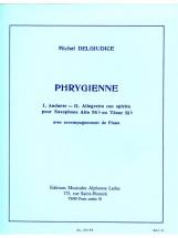 Delgiudice Michel - Phrygienne - Saxophone and Piano