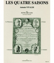 Vivaldi A. / Veilhan J.c. - Les 4 Saisons - Flb Alto