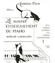 Curie - Le Nouvel Enseignement Du Piano Vol.1