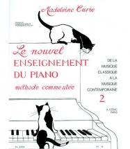 Curie - Le Nouvel Enseignement Du Piano Vol.2