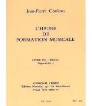Couleau Jean-pierre - L'heure De Formation Musicale P2 (eleve)