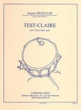 Delecluse Jacques - Test-claire