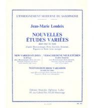 Londeix J.m. - Nouvelles Etudes Variees Dans Tous Les Tons - Saxophone
