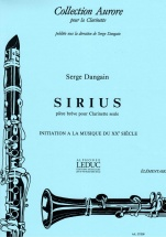 Dangain Serge - Sirius - Clarinette Seule