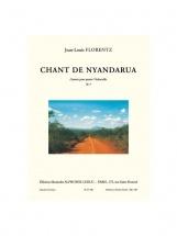Florentz J.l.- Chant De Nyandarua - Litanies - 4 Violoncelles