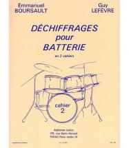 Boursault/lefevre - Dechiffrage Pour Batterie Vol.2 - Batterie