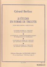 Berlioz Gerard - 20 Etudes En Forme De Tricotis