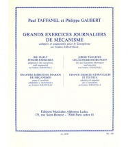 Taffanel/gaubert - Grands Exercices Journaliers - Saxophone