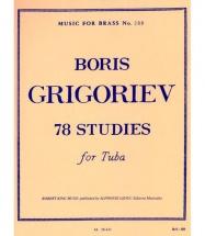 Grigoriev B. - 78 Etudes - Tuba
