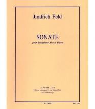 Feld Jindrich - Sonate - Saxophone Mib and Piano
