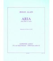 Alain Jehan - Aria - Flûte / Orgue