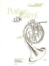 Ghidoni A. -  Poesie Gaite - Cor Et Piano