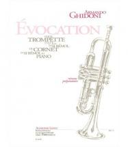 Ghidoni A. - évocation - Trompette (cornet) Et Piano