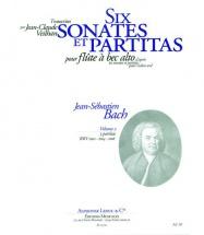 Bach Js / Veilhan - 6 Sonates Et Partitas Vol.2 - Flb Alto