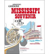 Ghidoni Armando - Mississipi Souvenir - Cor En Fa Et Piano