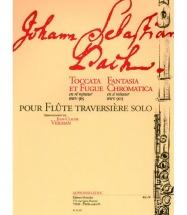 Bach J.s. Toccata Et Fugue En Ré M Bwv 565, Fantasia Chromatica En Si M Bwv 903
