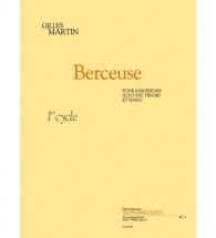 Martin Gilles - Berceuse - Saxophone and Piano