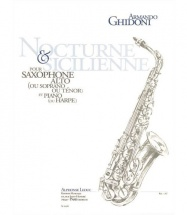 Ghidoni Armando - Nocturne Et Sicilienne - Saxophone and Piano