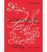 Feybli - Jacques Ibert En Deux Volumes Vol.1 - 2 Guitares