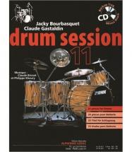 Bourbasquet/gastaldin - Drum Session Vol.11 + Cd