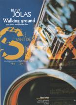 Jolas Betsy - Walking Ground Pour 2 Saxophones Altos