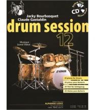 Bourbasquet/gastaldin - Drum Session Vol.12 + Cd