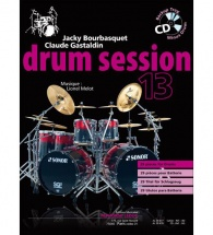 Bourbasquet/gastaldin - Drum Session Vol.13 + Cd