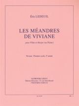 Ledeuil Eric - Les Meandres De Viviane - Flute and Piano