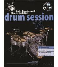 Bourbasquet/gastaldin/melot - Drum Session Vol.14 + Cd