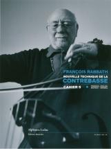 Rabbath Francois - Nouvelle Technique De La Contrebasse Vol.5