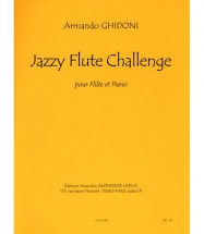 Ghidoni Armando - Jazzy Flute Challenge - Flute and Piano