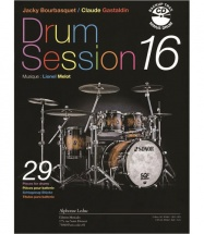 Bourbasquet/gastaldin - Drum Session Vol.16 + Cd