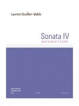 Duvillier-wable Laurent - Sonata Iv - Quatuor A Cordes - Parties Separees